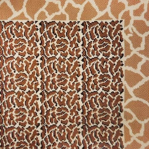 Leopardo com barra girafa