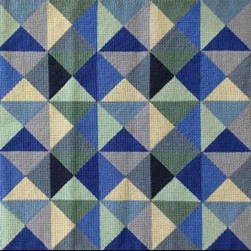 Tapete Composição em azuis - 1,38 x 0,76